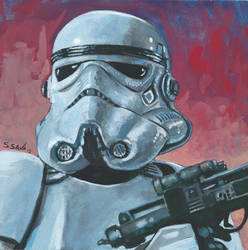 Stormtrooper by ssava