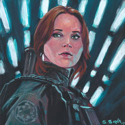 Jyn Erso by ssava