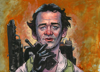 Peter Venkman Caricature by ssava