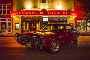 Esmerelda in downtown Franklin