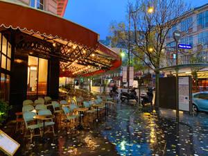 Rainy Morning in Paris...