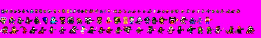 Busco usuarios que me ayuden a terminar sprites de personajes y niveles para un videojuego Open_Liero_X_sprites_by_GeoCloaking