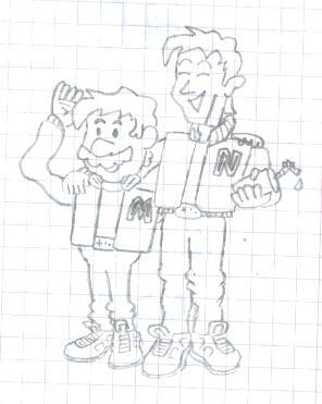 Captain N y Mario