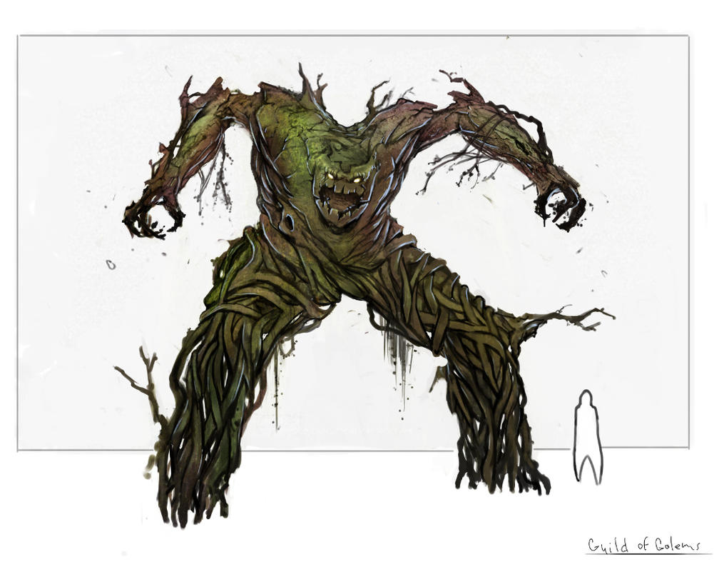 Forest Golem by Shuty9