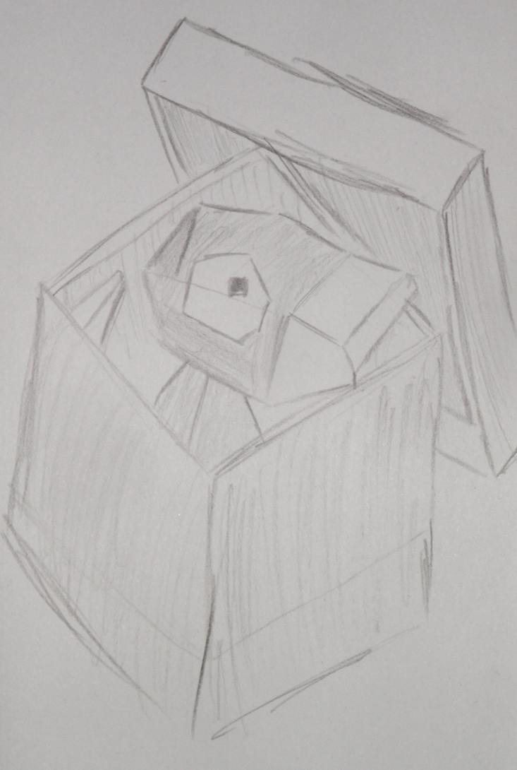 Porygon in a box by Runenkatze