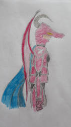 Colored Sketch Laydramon - Data Chronicles by Runenkatze