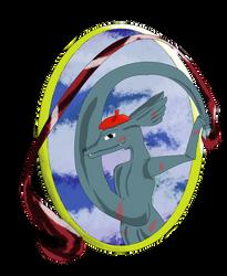 Colagaroomon the living picture - Digimon ? by Runenkatze