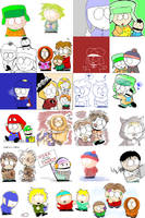 South Park doodle 1 by hoshikagami