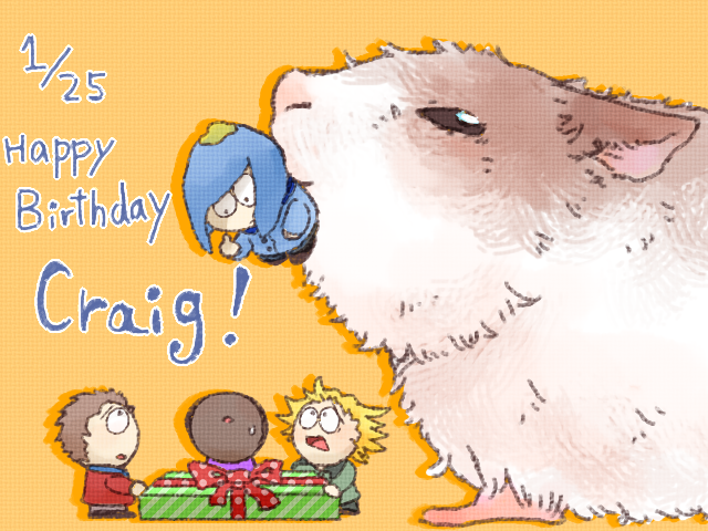 SP: Happy birthday Craig by hoshikagami