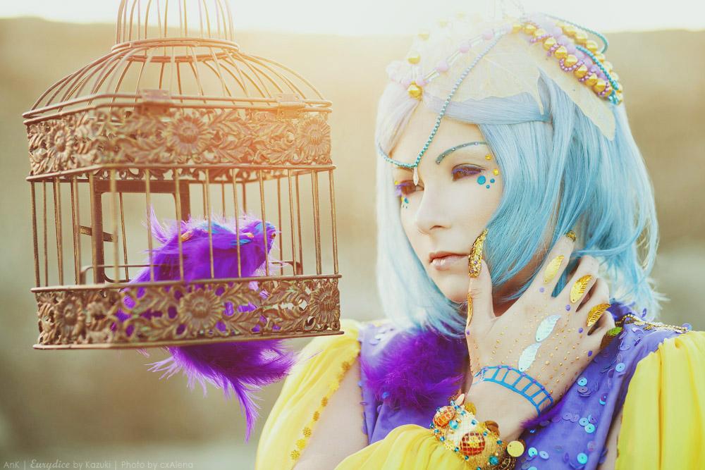Like a bird in a cage by Kazuki-Fuchouin