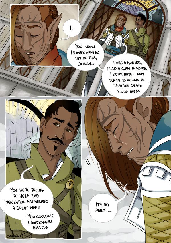 Dorian X Lavellan Mini Comic Pg3 By Alakotila On Deviantart