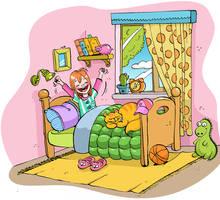 children's book illustration by esendemirci