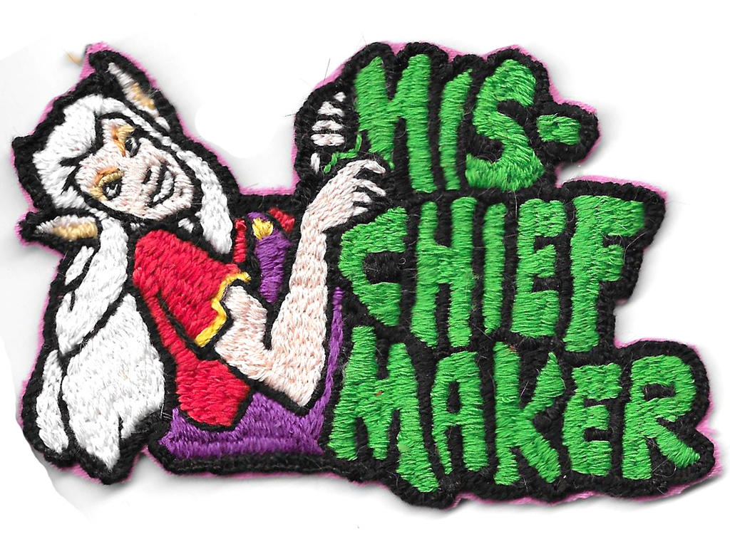 Mischief maker patch by RoryRochelle