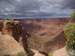 Canyon and Clouds