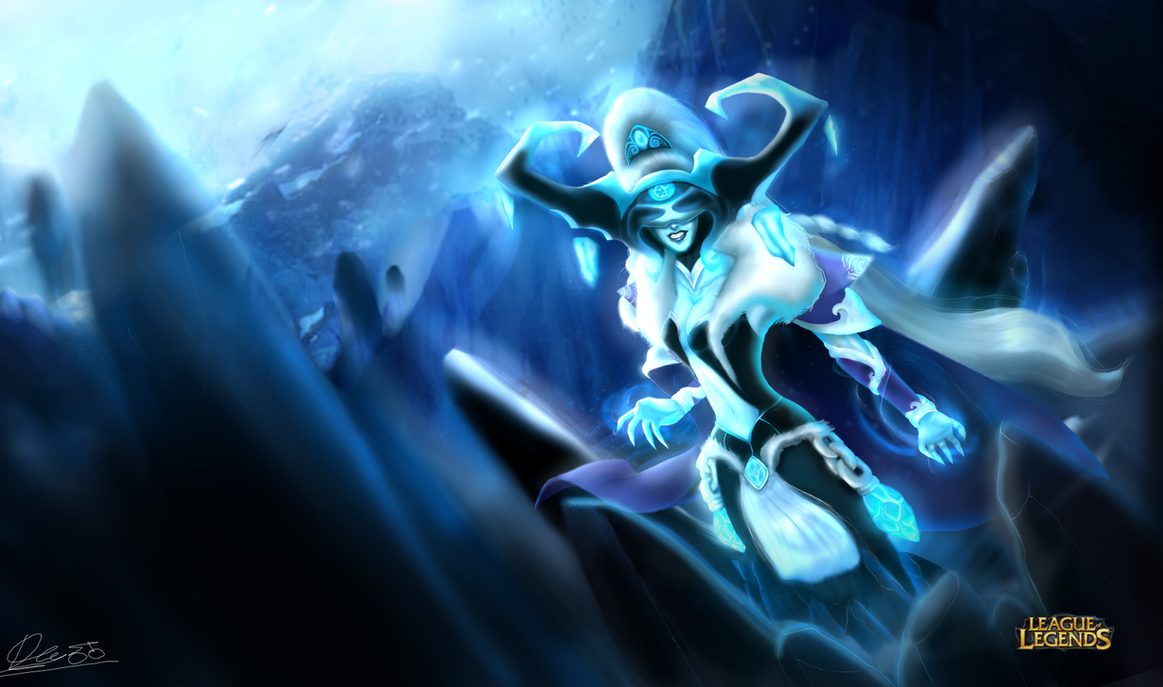 Queen Lissandra by DBR01 on DeviantArt