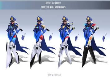 Officer Camille by DBR01