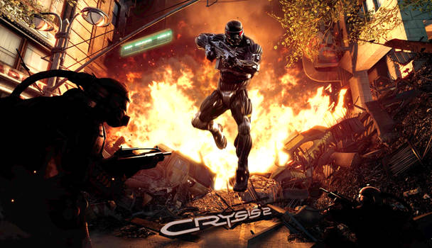 Crysis 2 Wallpaper ULTRA HD