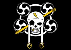 Jolly Roger Enel Eneru 4 by Qbix0mat