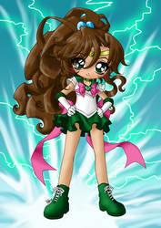 Super Sailor Jupiter by seraphim-kimiko