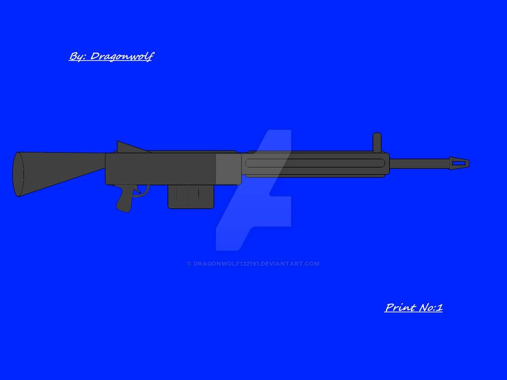 Standard Assualt Rifle by Dragonwolf122191