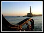 Early in the morning in Chania