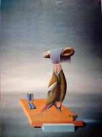 olio su tela 050x060 pittore davo by PittoreDavo