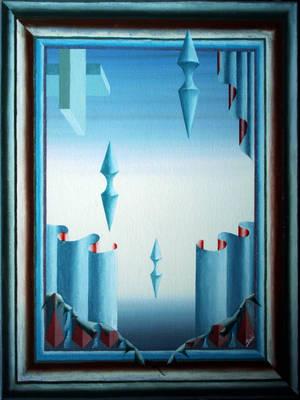 pittore davo olio su tela 055x065 by PittoreDavo