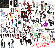 2017 - All Characters