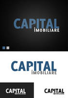 Capital real estate logo v1 by f3nta
