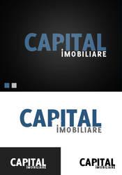 Capital real estate logo v1 by f3nta
