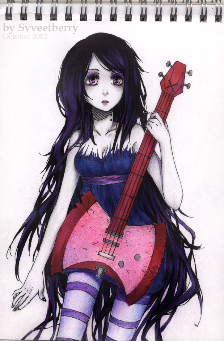 Adventure Time - Marceline by Svveet