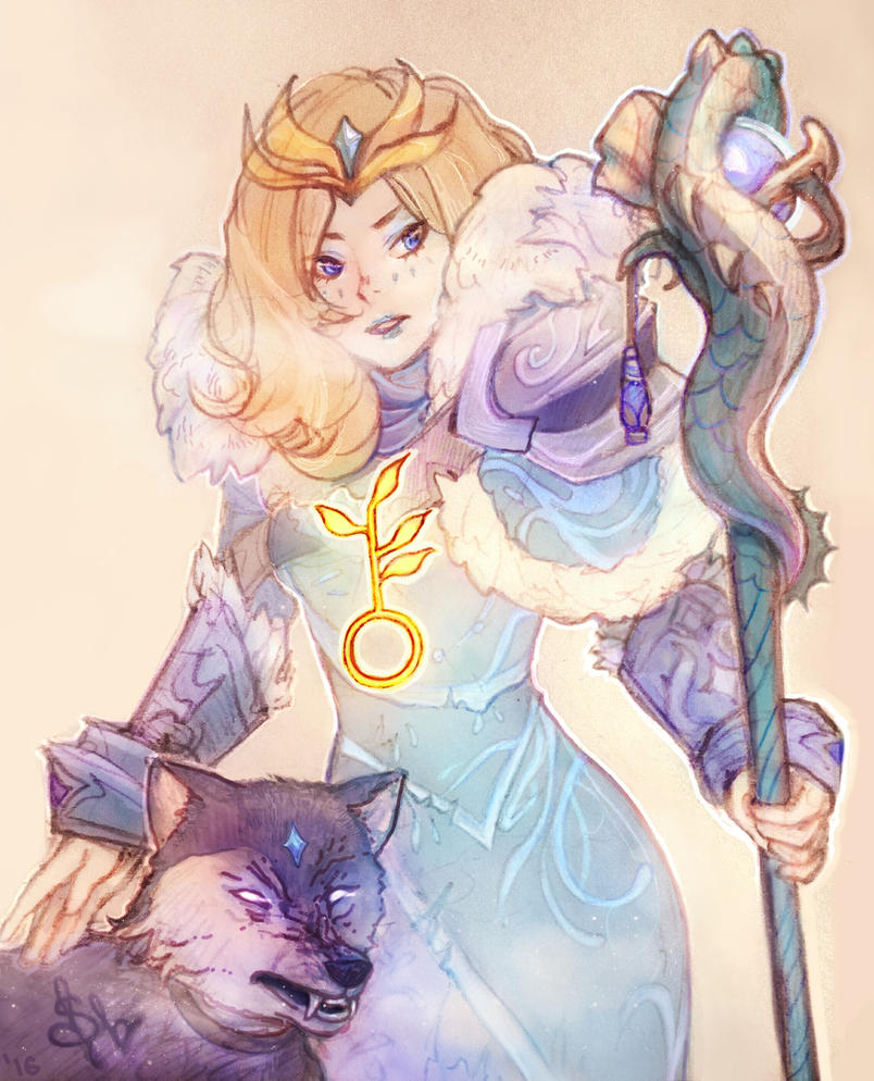 Crystal Maiden by Svveet