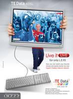TE Data ADSL 'Live' by msalah