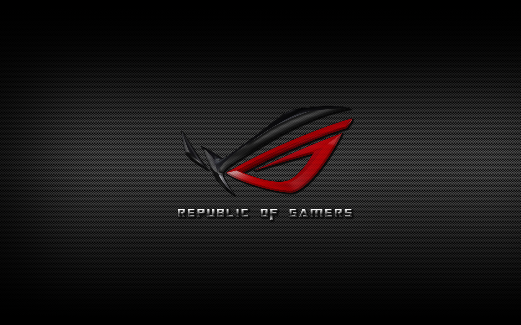 Asus Wallpapers Widescreen: ASUS ROG Republic Of Gamers Carbon Fiber By PeLu85 On
