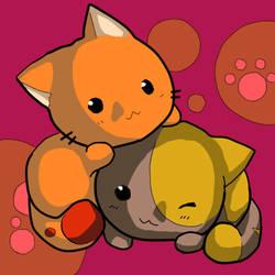 Cute Kittens by Pikuna