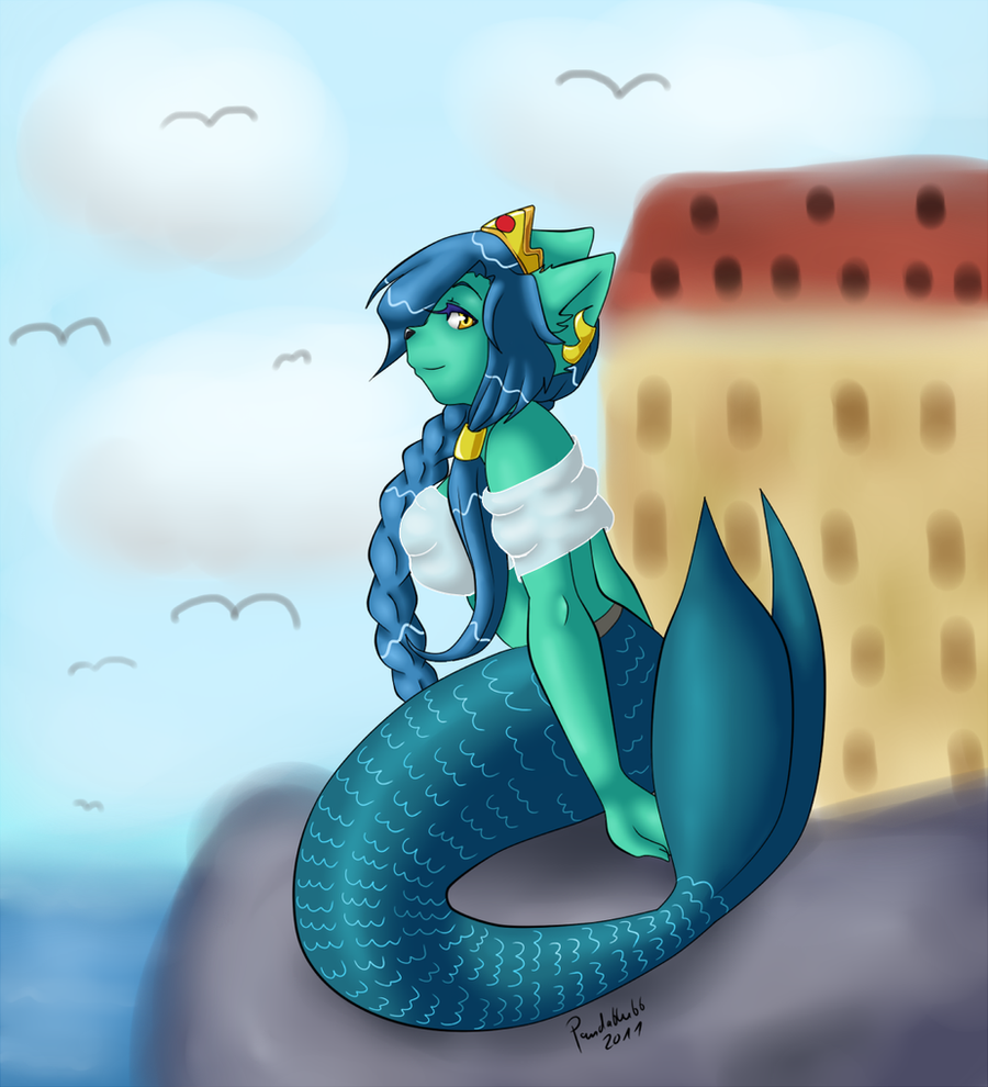 The Mermaid By Pikuna On DeviantArt
