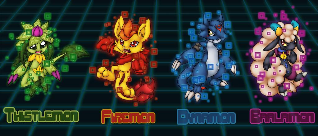 The Digi-Team by Pikuna
