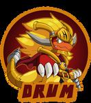 :Badge Commission: Drum