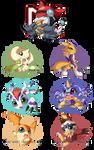 Digimon Chibis - Batch One -