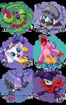 Digimon Chibis - Batch Two -