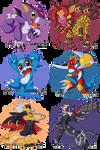 Digimon Chibis - Batch Three -