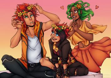 Flower Crown by Pikuna