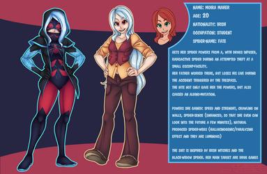 Moira - Spider-Fate by Pikuna