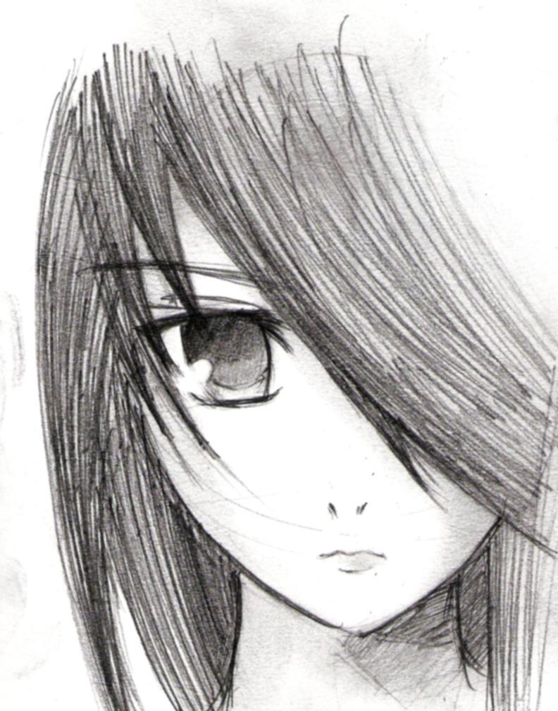sketcheroo +shana+ by vatenkeist