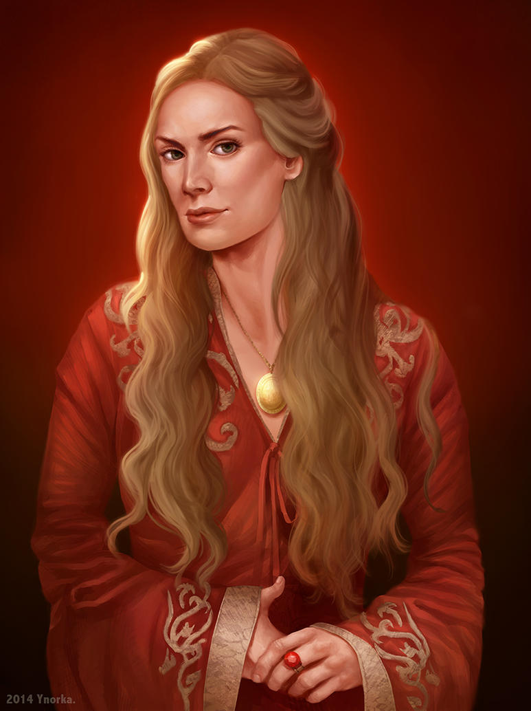 Game of thrones fan art - Cersei Lannister by ynorka