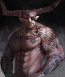The Iron Bull by ynorka