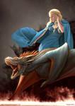 Daenerys n Drogon