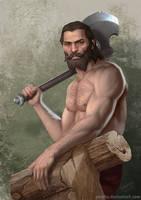 Blackwall lumberjack by ynorka