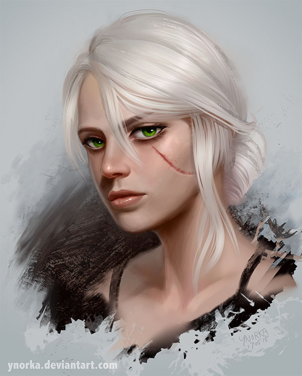 Ciri Witcher 3 By Ynorka On Deviantart