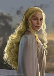 Dragon queen by ynorka